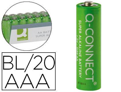 PILES ALCALINES AAA/LR03 PACK DE 20