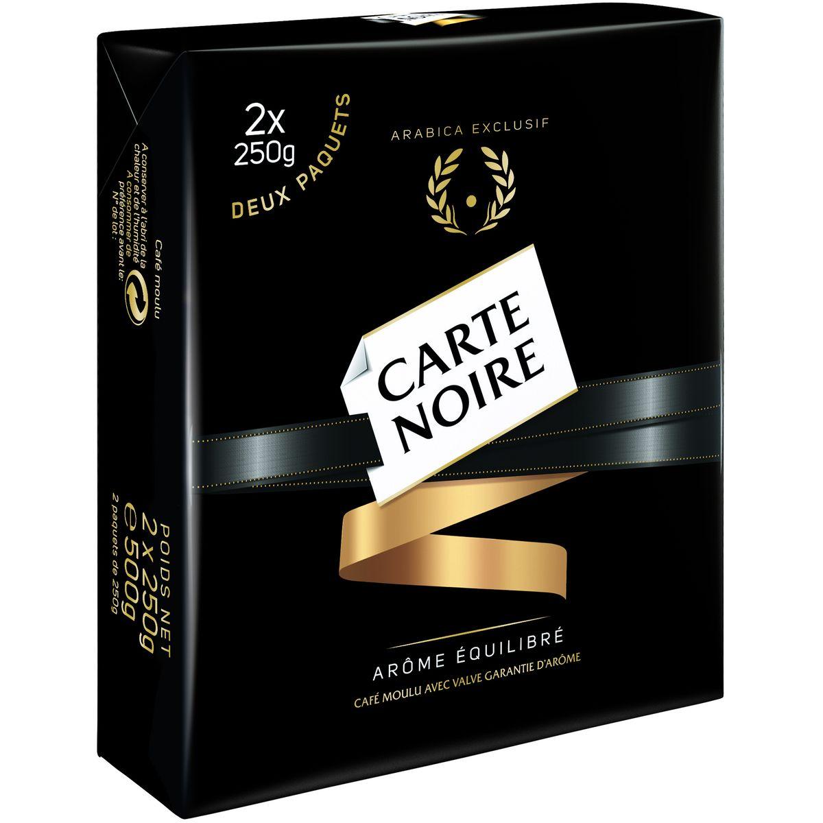 CAFÉ MOULU 50G PACK DE 2