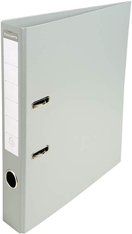 CLASSEUR PVC DOS 50MM GRIS CLAIR