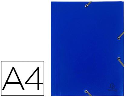 CHEMISE A4+ 3 RABATS BLEU