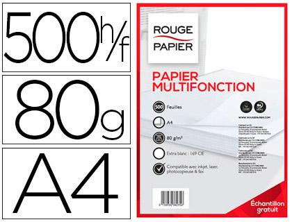 ROUGE PAPIER A4 38235