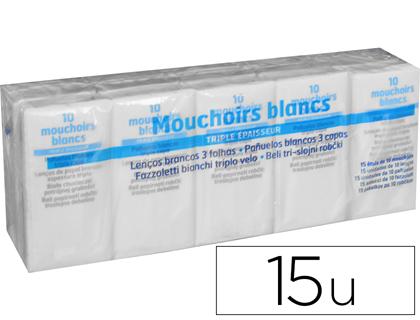 MOUCHOIRS EN PAPIER PACK DE 15