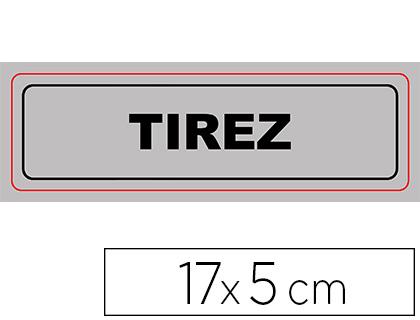 PLAQUE TIREZ