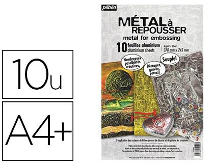 MÉTAL A REPOUSSER 370X245MM