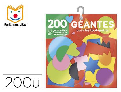 GOMMETTES GÉANTES SACHET DE 200