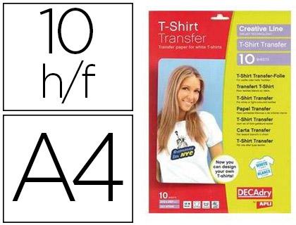 FEUILLES TRANSFERT T-SHIRT