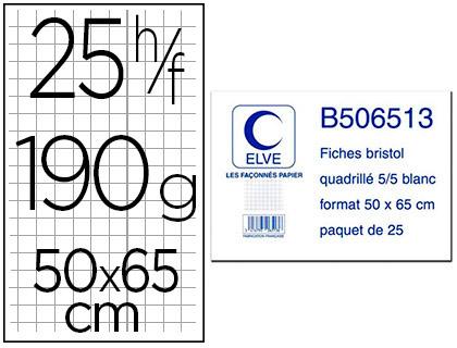 FEUILLE BRISTOL 5X5