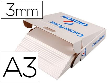 CARTON PLUME A3 ÉPAISSEUR 3MM