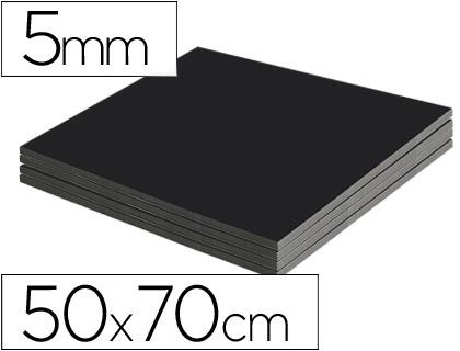 CARTON PLUME FACE NOIRE 50X70CM