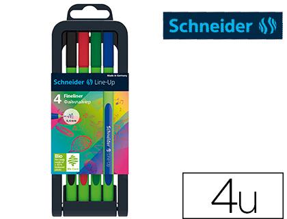 FINELINER LINE-UP BOX 4 COLORIS