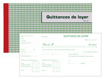 QUITTANCES DE LOYER 135X185MM