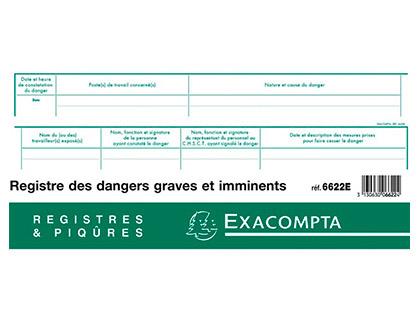 REGISTRE PIQUÉS DES DANGERS GRAVES ET IMMINENTS