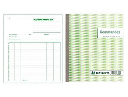 COMMANDES 50 DUPLIS 21X18CM