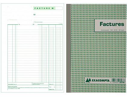 FACTURES 50 DUPLIS 21X13.5CM