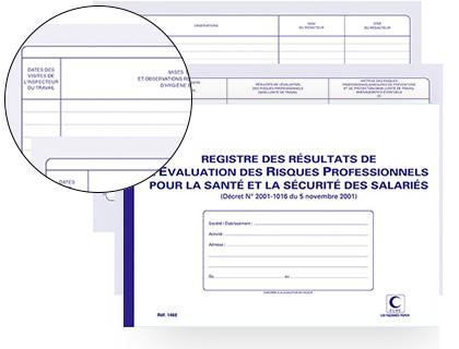 RÉSULTAT DE L\'ÉVALUATION DES RISQUES PROFESSIONNELS