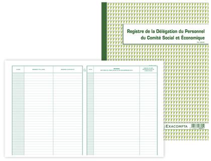 REGISTRE DE LA DÉLÉGATION DU PERSONNEL DU CSE