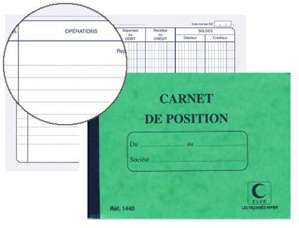 POSITION DE COMPTE 11X15CM
