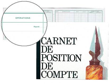 POSITION DE COMPTE 16X19.5CM