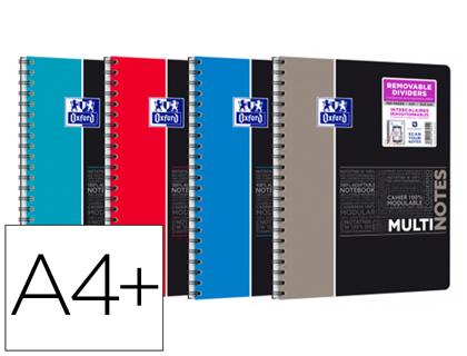 MULTI-NOTES ÉTUDIANTS A4+ PETITS CARREAUX