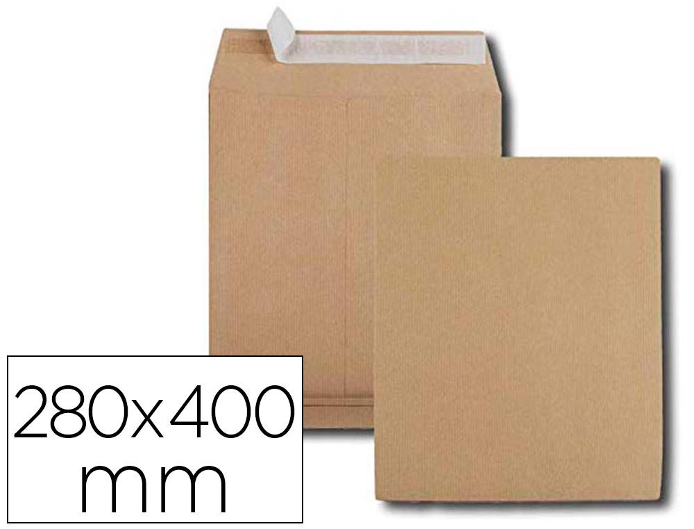 KRAFT 280X400MM SOUFFLET 3CM PACK DE 50