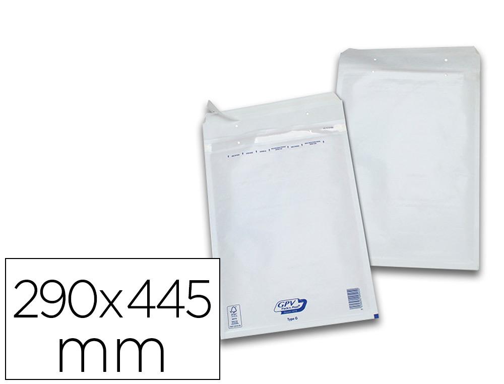 PACK DE 50 POCHETTES BULLES 290X445MM