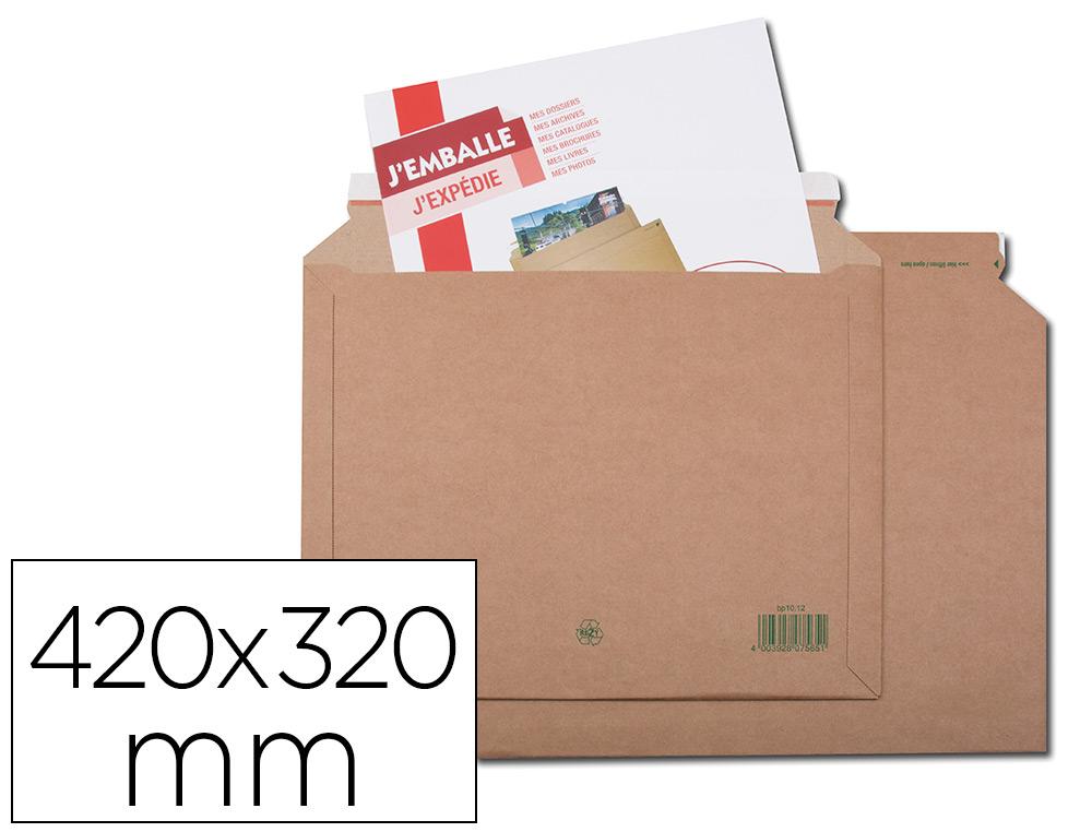 PACK DE 2 POCHETTES EN CARTON 420X320MM