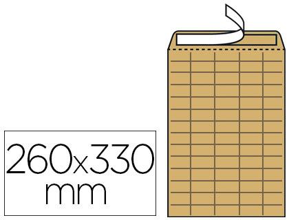 250 POCHETTES INTER-SERVICES FORMAT 260X330MM
