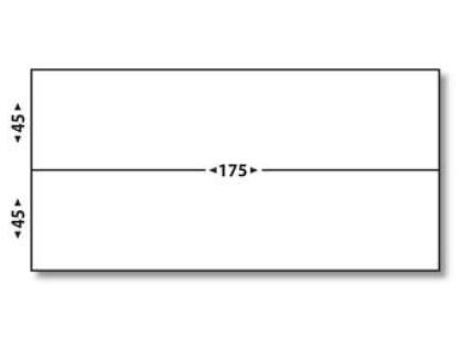 ÉTIQUETTES AFFRANCHISSEMENT SIMPLES 175X45MM