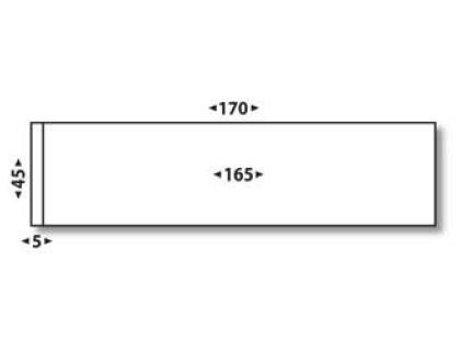 ÉTIQUETTES AFFRANCHISSEMENT DOUBLES 170X45MM