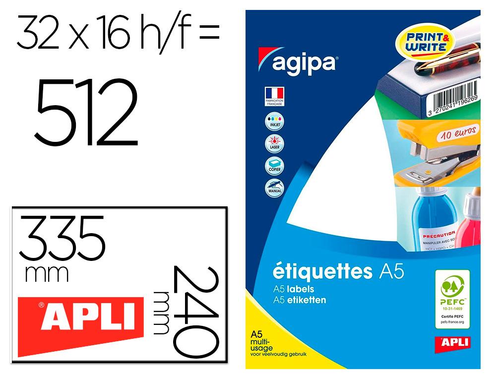 ÉTIQUETTES MULTI USAGES 24X33.5MM