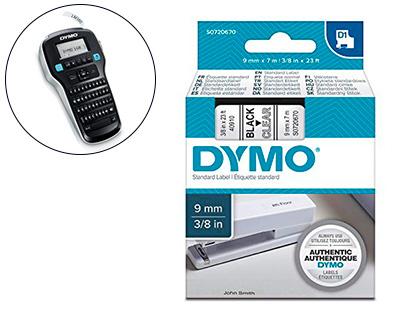 DYMO D1 NOIR/BLANC 9MMX7M PACK DE 10
