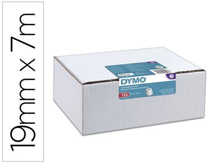 DYMO D1 NOIR/BLANC 19MMX7M PACK DE 10