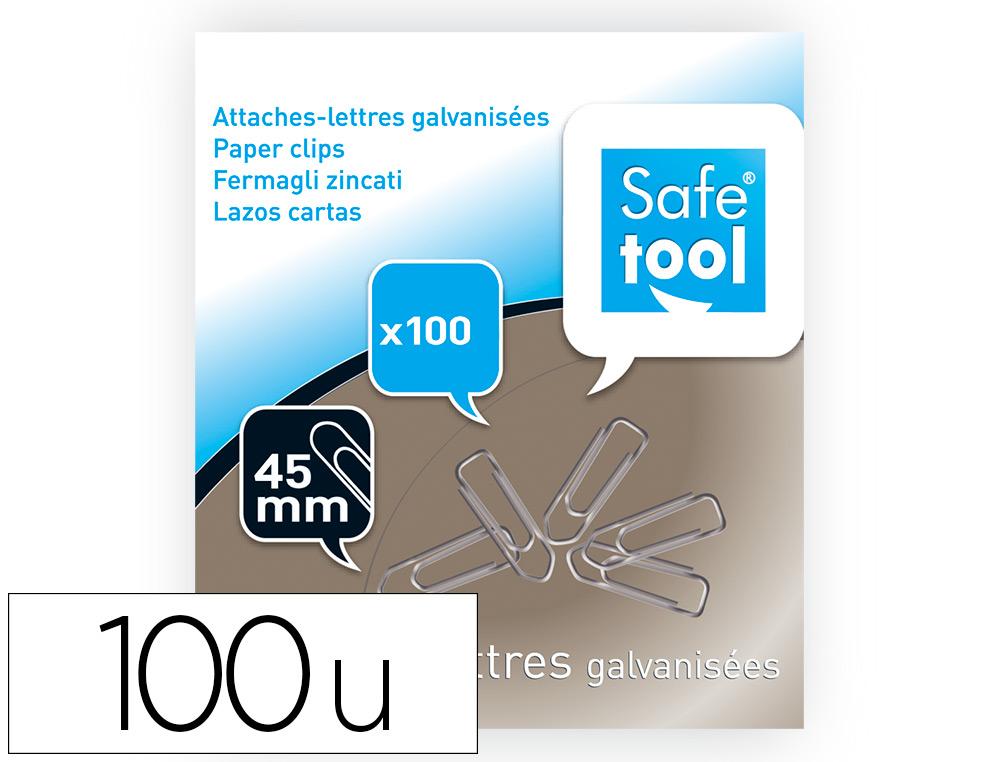 TROMBONES EN ACIER 45MM BOITE DE 100