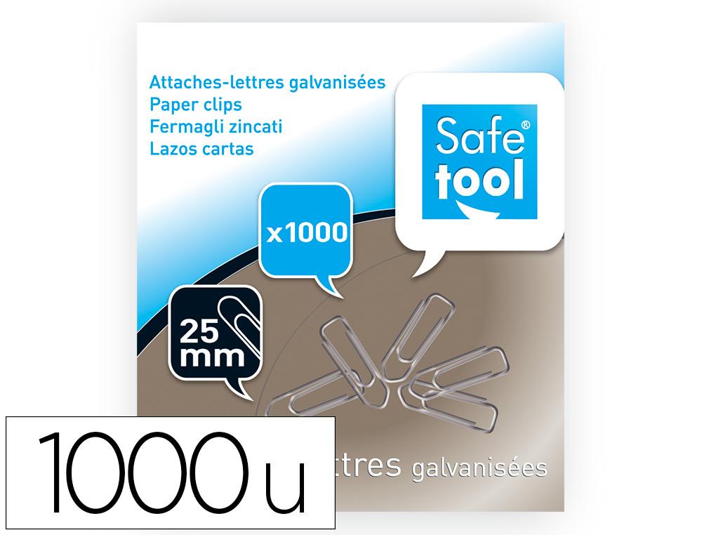TROMBONES EN ACIER 25MM BOITE DE 1000