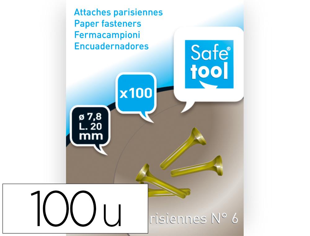 ATTACHES PARISIENNES N°6 25MM