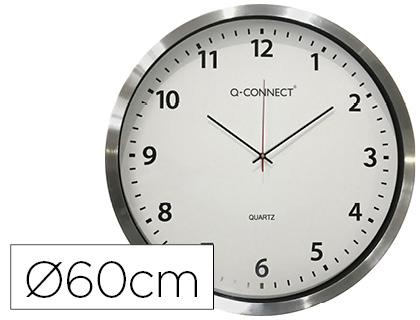 HORLOGE CHROMÉE Ø60CM