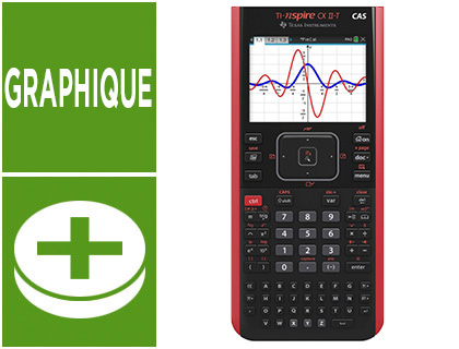CALCULATRICE TI-NSPIRE CX II - T CAS