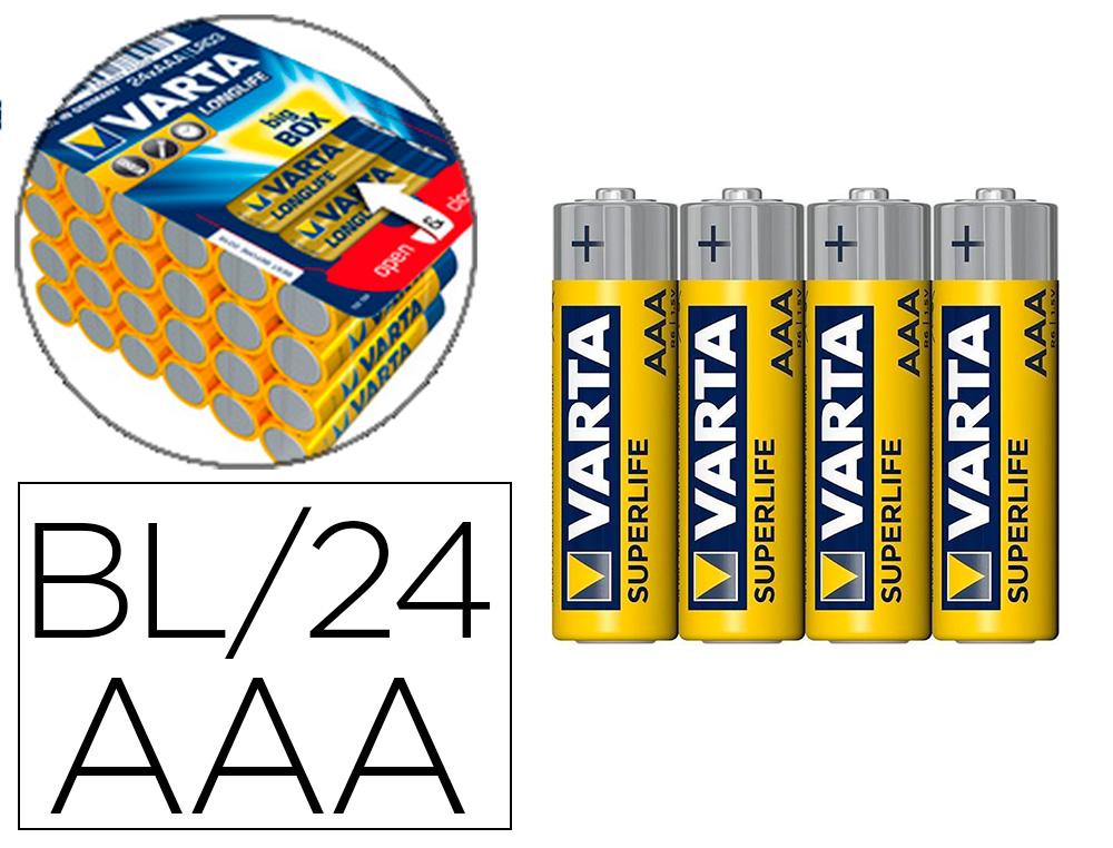 PILES ALCALINES AA/LR03 PACK DE 24