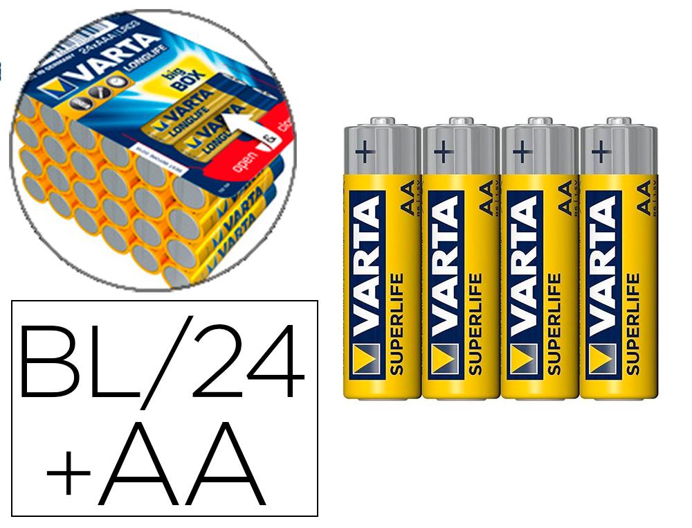 PILES ALCALINES AA/LR06 PACK DE 24