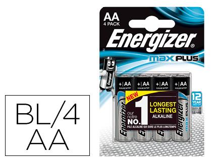 PILES MAX PLUS AA/LR06 PACK DE 4