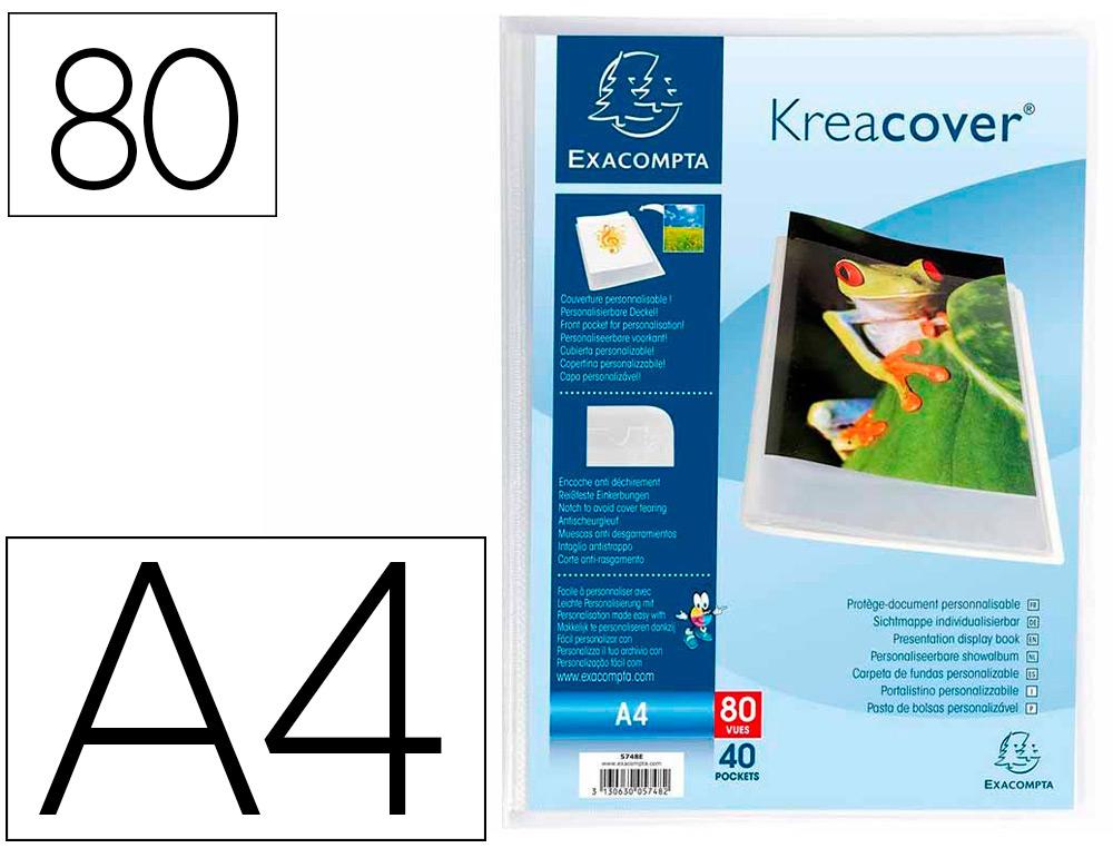CHROMALINE KREACOVER A4 80 VUES CRISTAL
