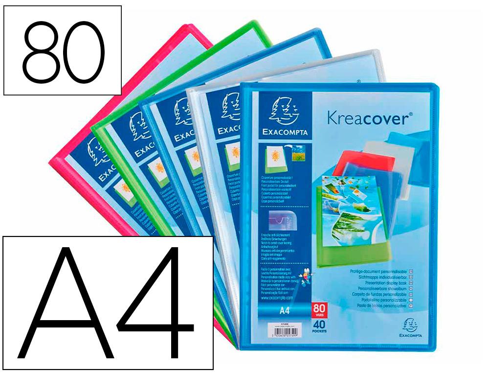 CHROMALINE KREACOVER A4 80 VUES TRANSPARENT
