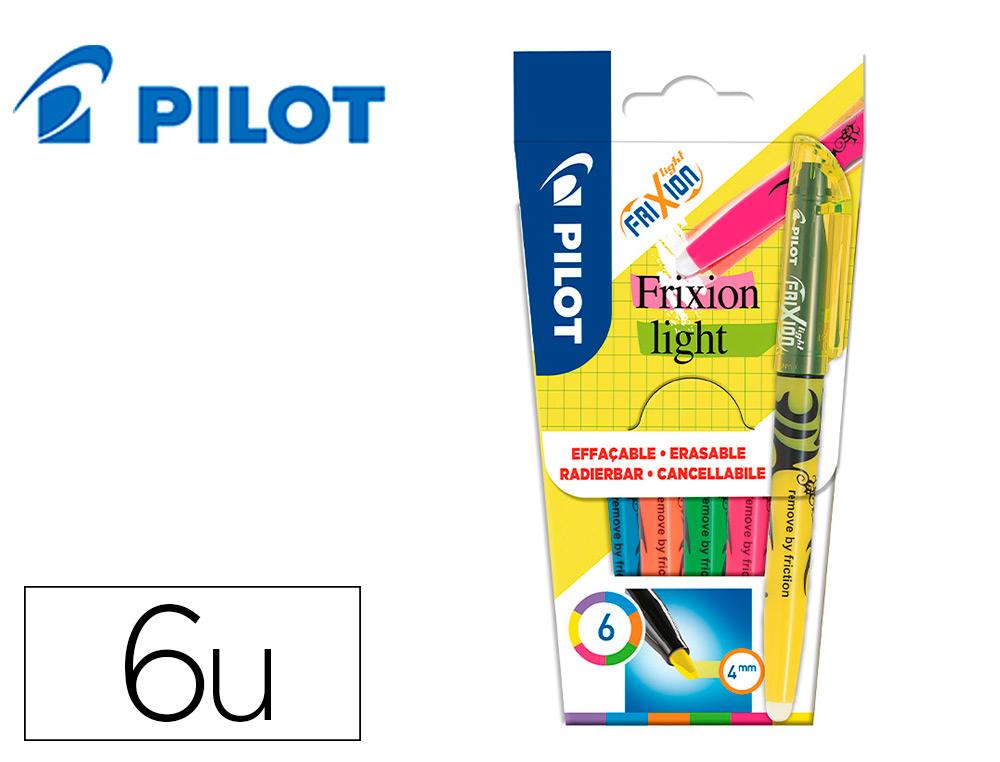 FRIXION LIGHT PACK DE 6 FLUOS