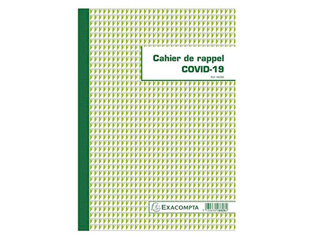 CAHIER DE RAPPEL COVID-19