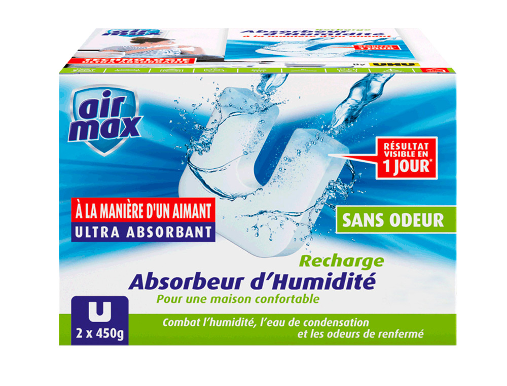 AIR MAX RECHARGES POUR ABSORBEUR D\'HUMIDITE