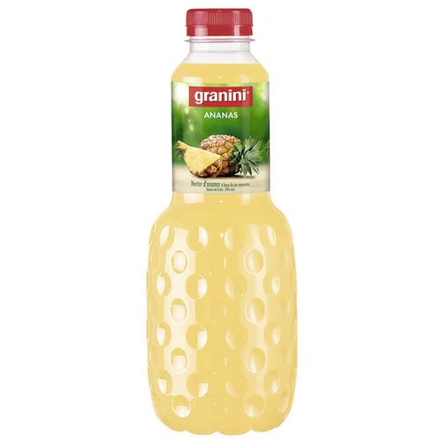GRANINI NECTAR ANANAS BOUTEILLE 1L