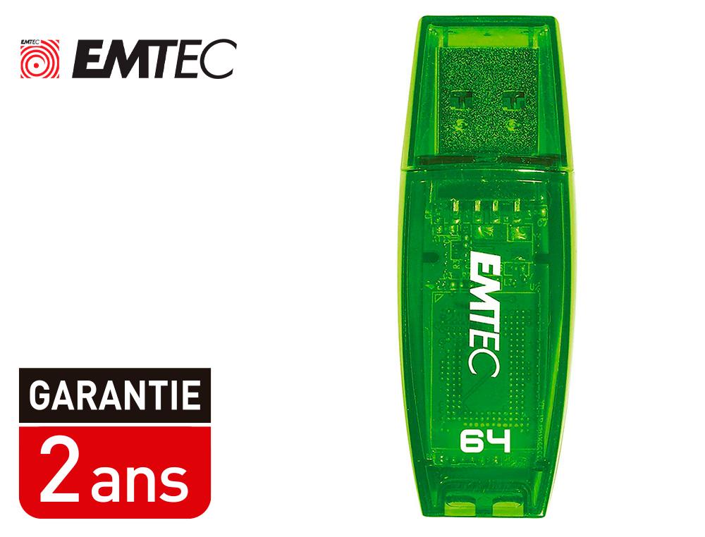 CLÉ USB C410 COLOR MIX 2.0 VERT 64Go