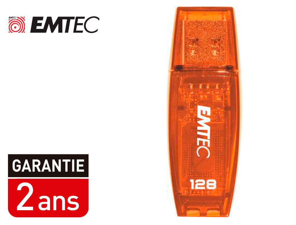 CLÉ USB C410 COLOR MIX 2.0 ORANGE 128Go