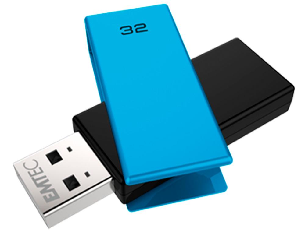 CLÉ USB C350 BRICK 2.0 BLEU 32Go
