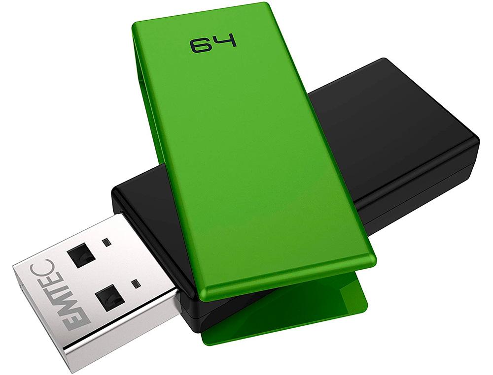 CLÉ USB C350 BRICK 2.0 VERT 64Go